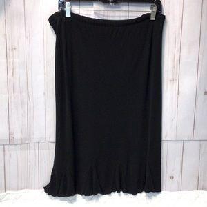 Mimi Maternity Draw String Skirt Knee  Length